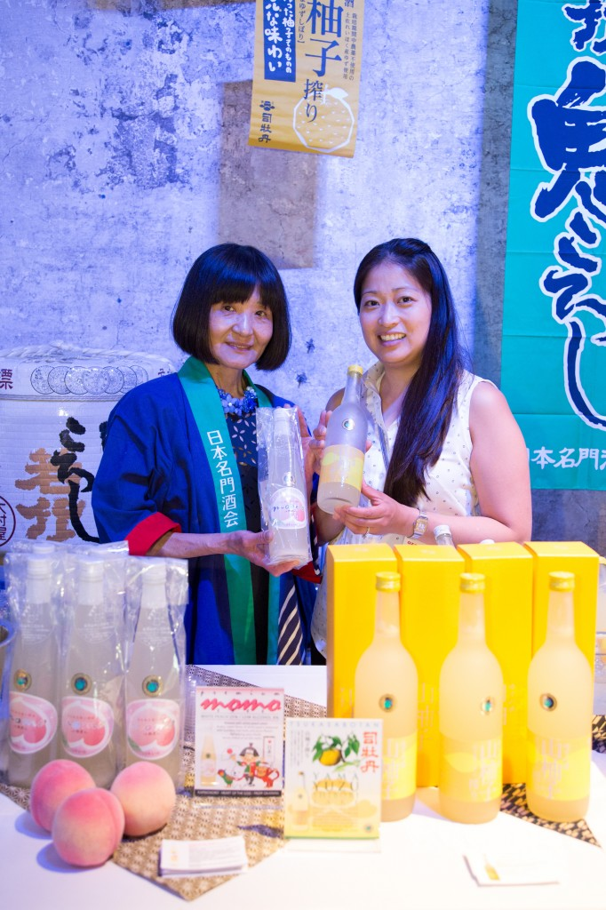 The team from Ozawa Canada and Japan Prestige Sake Association were excited to talk sake!